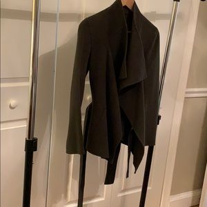 Joseph Wool/Cashmere Belted Coat (size 36)